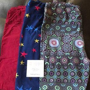 3 for $30 LouLaRoe leggings
